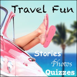 Travel fun, pink flip flops