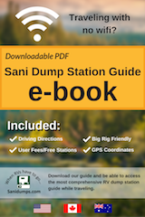 book cover for rv dumping stations