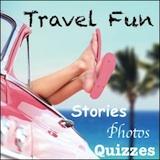 pink car, pink flip flops, travel fun