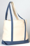 large canvas beach bag