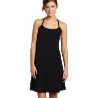 spaghetti strap black travel sun dress
