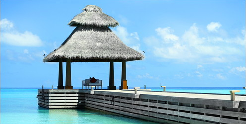 palapa in the Maldives