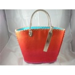 Victorias Secret straw bag