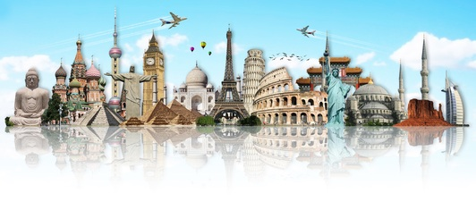 travel monuments of the world
