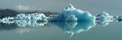 iceberg panorama