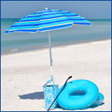 turquoise bag, swim ring, umbrella