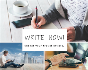 Travel writers wanted invitation