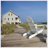 adirondack chairs, beach house
