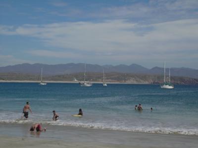 The Beach at Tenacatita
